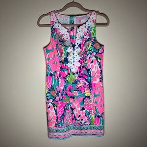 NWT Lilly Pulitzer Gabby Shift Dress in Gumbo